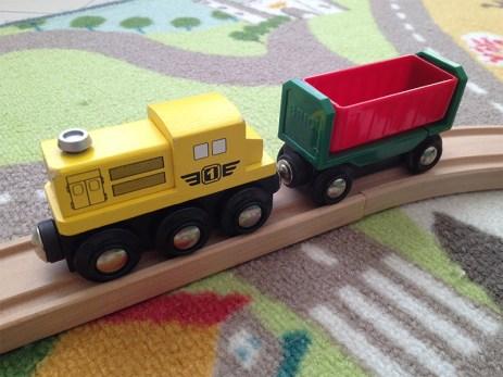 Les locomotives ont un look sympa.
