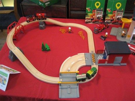 Circuit et caserne de pompier Brio
