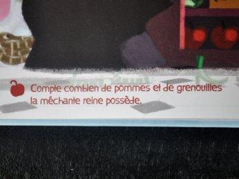 Des petits jeux sont présents dans les livres McDonald's