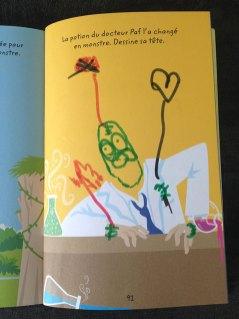 Les activités font travailler l'imagination de l'enfant.