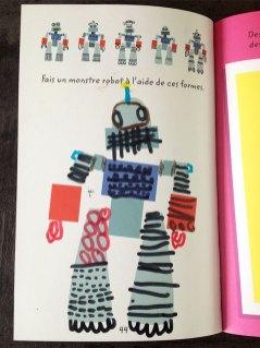 Créer un robot à l'aide de différentes formes.