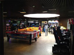 la salle d'arcade