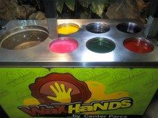 Stand Wax Hands