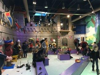 décors chevalier au Playmobil Funpark