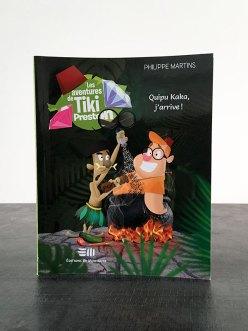 livre jeunesse Tiki Preston