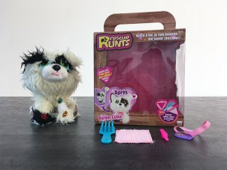 peluche chien Rescue Runts