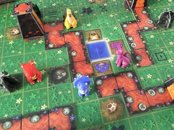 jeux de société avec des dinosaures