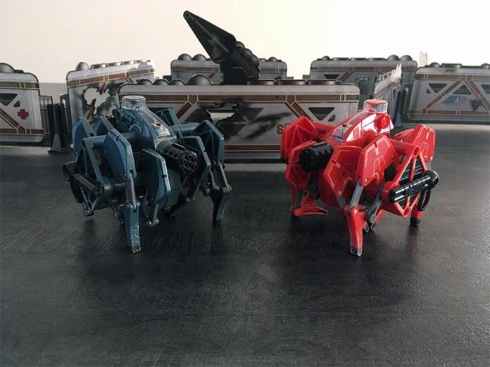 hexbug tarantula battle
