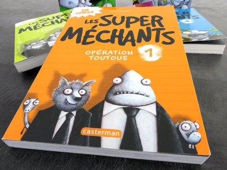 livre jeunesse les super méchants
