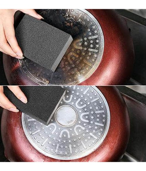 before-after-Anti-Rust-Kitchen-Sponge