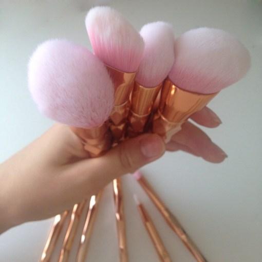 11Pcs-Diamond-Rose-Gold-Makeup-Brushes-Set-Mermaid-Fishtail-Shaped-Foundation-Powder-Cosmetics-Brush-Rainbow-Eyeshadow