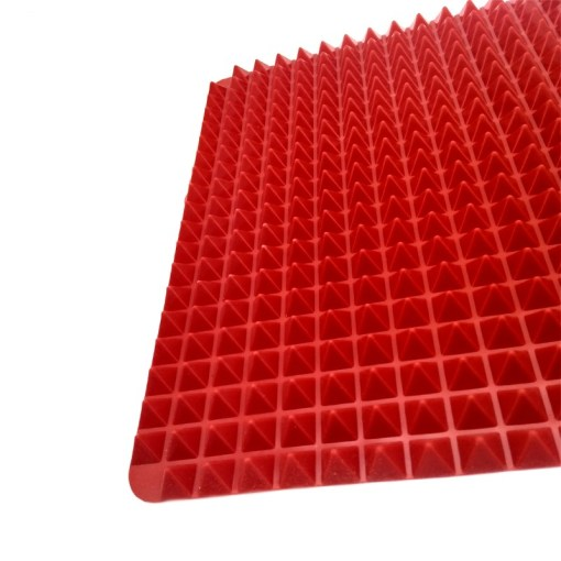 Non-Stick-Heat-Resistant-Raised-Pyramid-Shaped-Silicone-Baking-Roasting-Mats-16-Inches-X-11-5 (3)