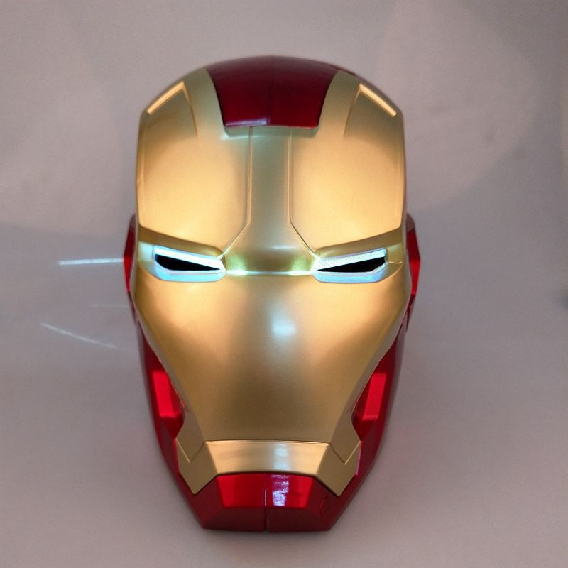 Iron Man Helmet Marvel Avengers Led Touch Sensing Mask Tony Stark