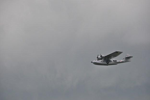 Een vliegboot zie je maar weinig in Nederland.