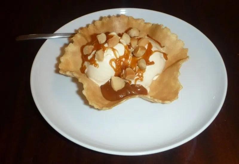 Gelato di noci macadamia