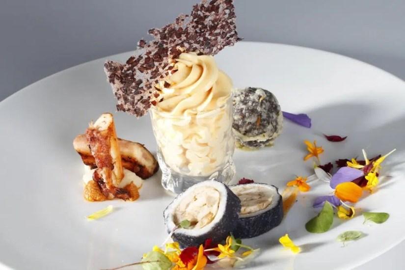 Coppa del Mondo della Gelateria la prova dell'entrée con gelato gastronomico