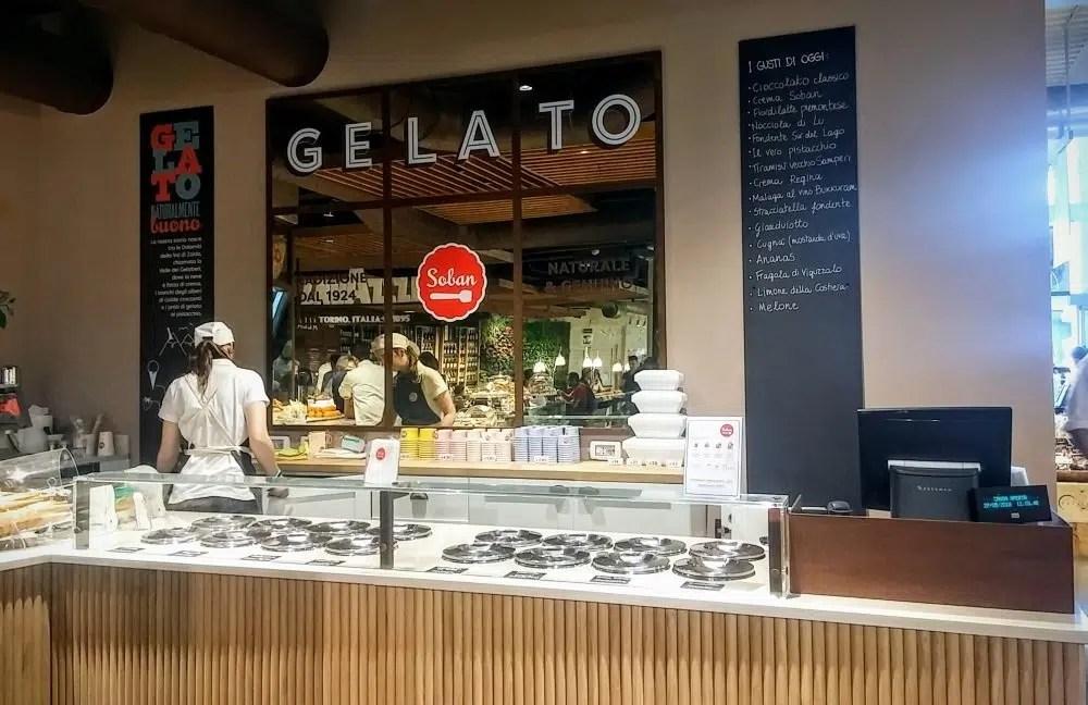 La gelateria Soban apre in Eataly Milano