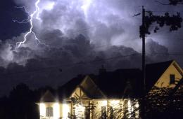 Lightning Storm Photo Featured on KSN TV