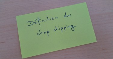 Définition dropshipping