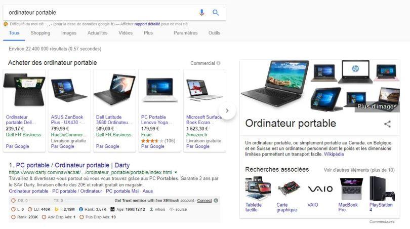 resultat-google-shopping