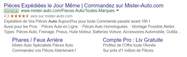 google-avis-client-resultat-adwords