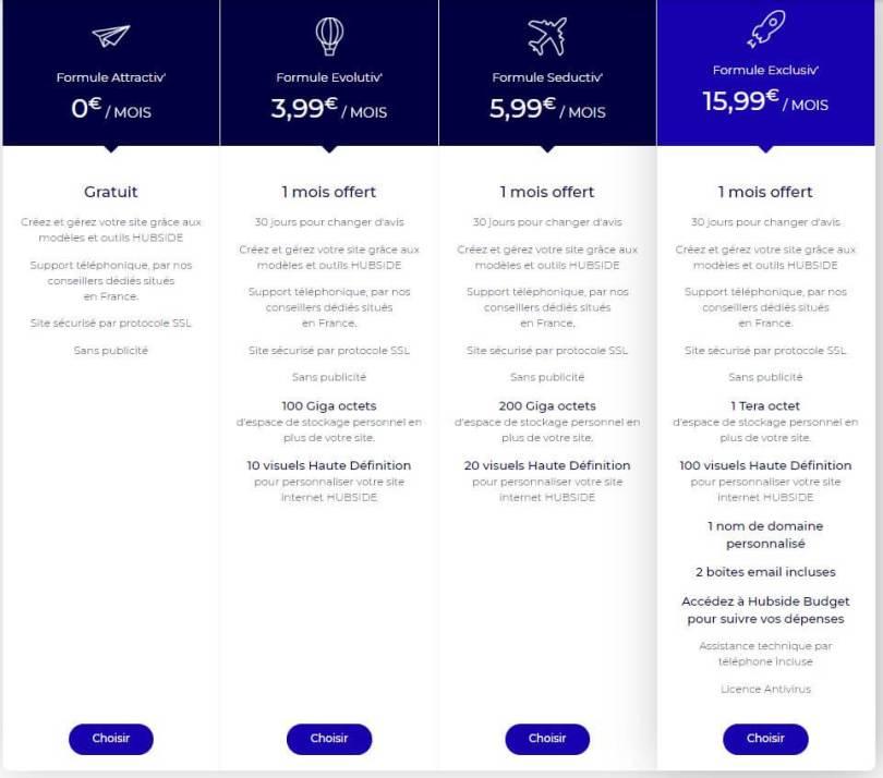 avis-hubside-prix-tarif-cout-solution-creation-site-internet