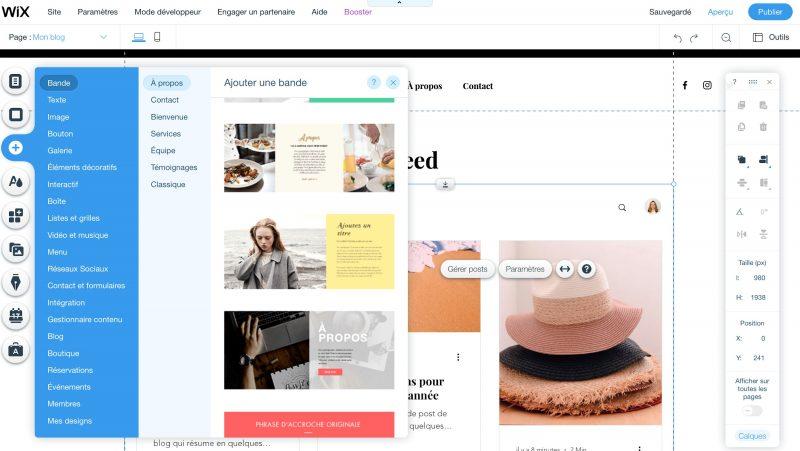 comment-modifier-blog-wix-gratuit