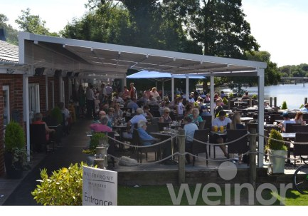 waterfront Cafe _weinor awnings