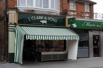 butchers awning