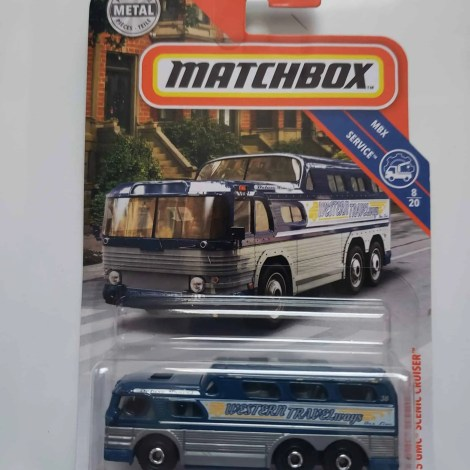 Matchbox 2019 55 GMC Scenic Cruiser