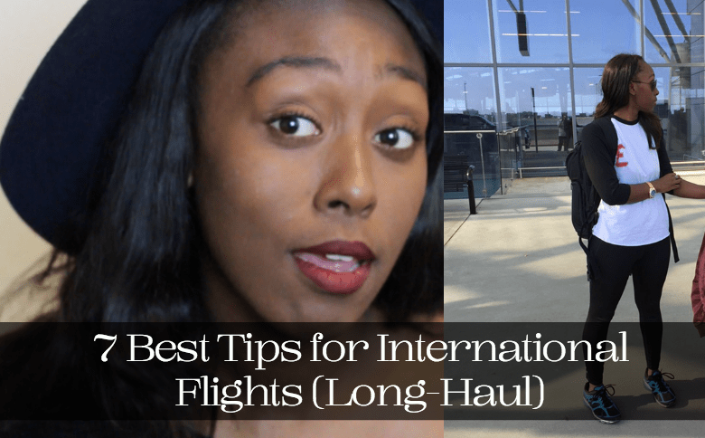 The Hat Logic - 7 Best Tips for International Flights (Long-Haul)