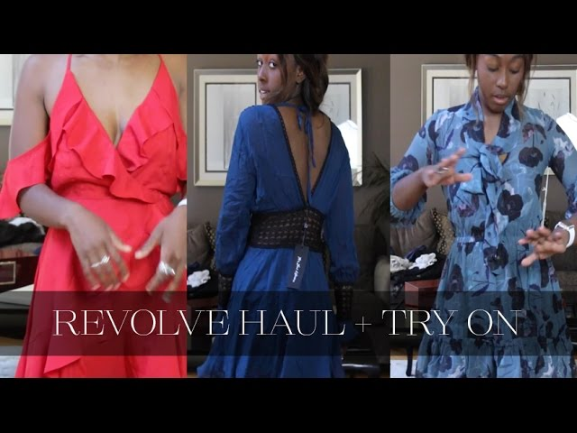 Jordan TAylor C - Revolve Haul + Try On