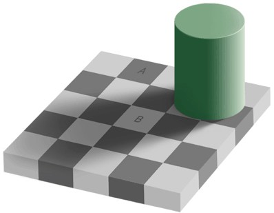 Optical Tile Illusion