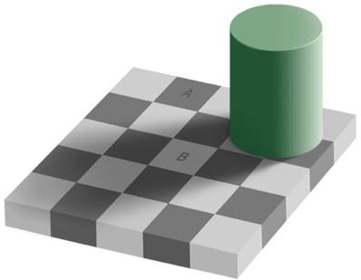 Optical Tile Illusion