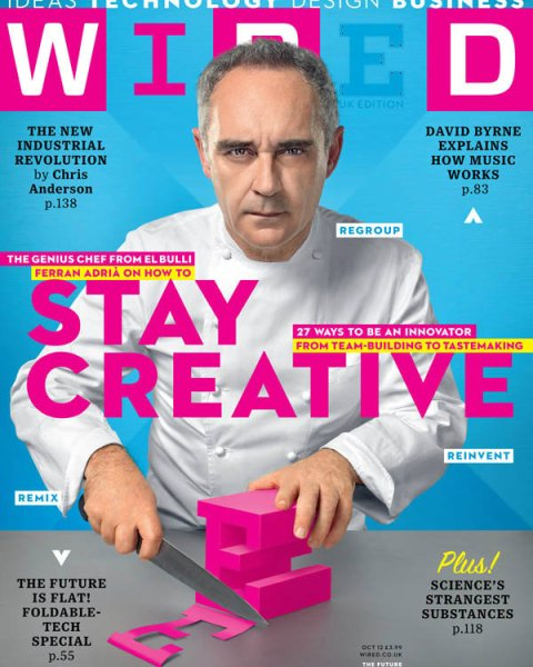 Ferran Adria Wired Magazine Cover