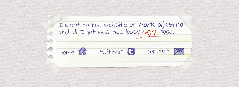 pagina error 404 personalizada