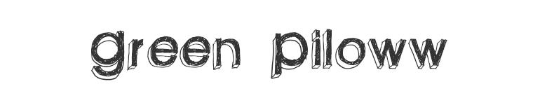 letras chulas para titulos green pilloww