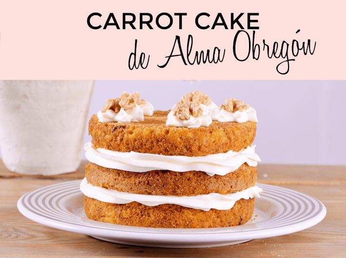 carrot cake alma obregon