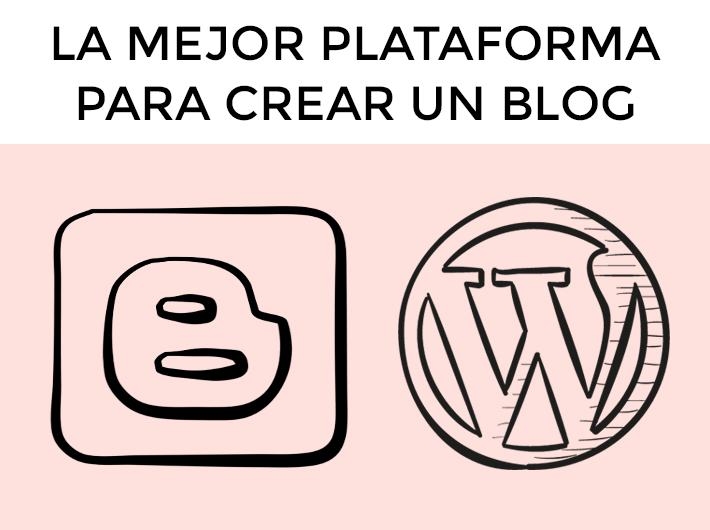 la mejor plataforma para crear un blog
