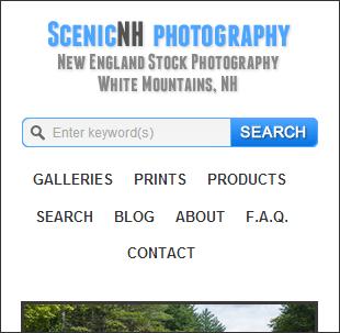 menu web con enlaces normales