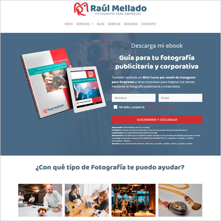 Raul Mellado Fotógrafo de Publicidad e Imagen