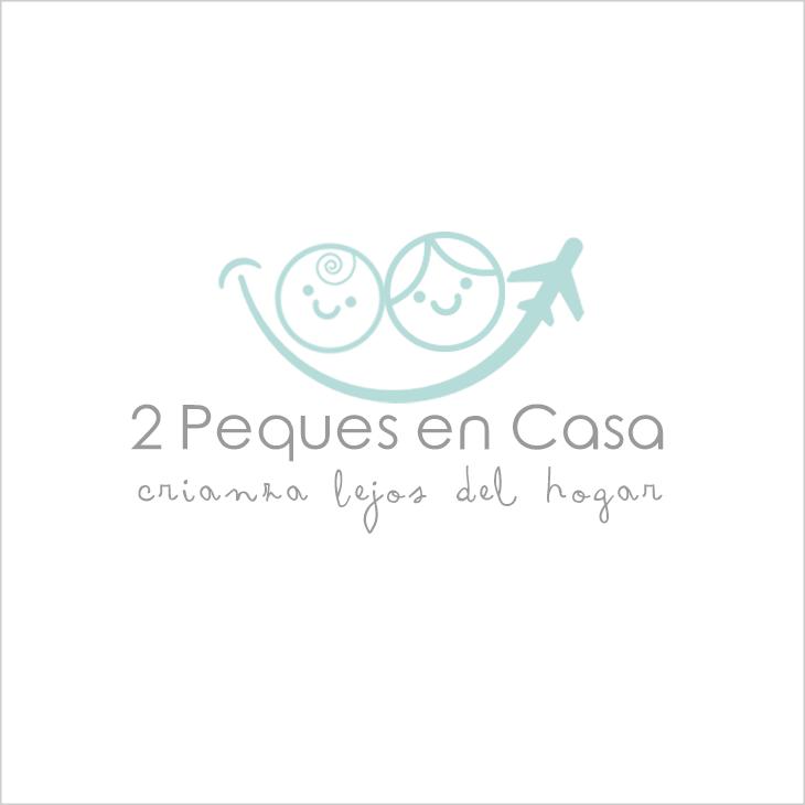 Logotipo 2 Peques en Casa