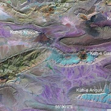 Geonáufragos: Interpretación geológica de imágenes de satélite en Fars (Irán)