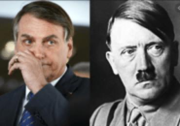 Bolsonaro disse com orgulho: meu bisavô foi soldado de Hitler