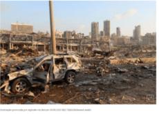 Forte explosão é registrada em Beirute, capital do Líbano