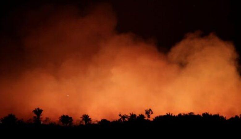 Governo federal reconhece emergência no MS em decorrência de incêndios florestais