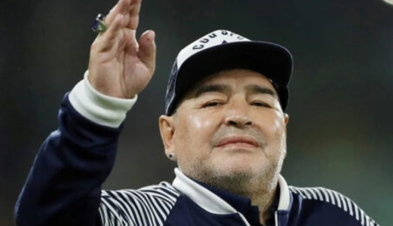 Morre o jogador  argentino Maradona
