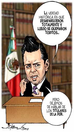 Reflexiones rumbo al Informe - Hernández