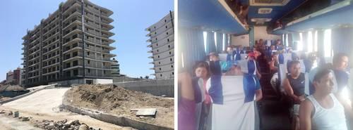 La Jornada: Despidos masivos de albañiles indígenas en la Riviera ...