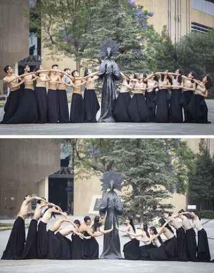 Compañía de danza Árbol de Ginkgo, una de las agrupaciones participantes en Danzatlán 2021.